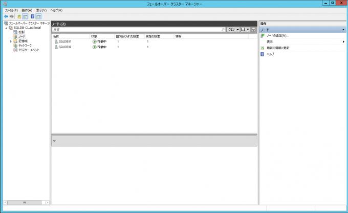 Data Keeperについても自動的に起動しており、WSFCに正しく追従している事が確認できた。